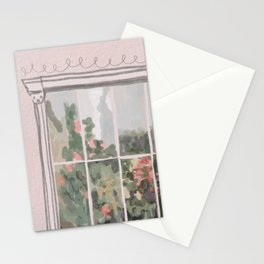 Victorian Greenhouse Watercolor Stationery Cards