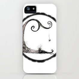 'Think I'll just stay in today' - Familiar and Friend iPhone Case