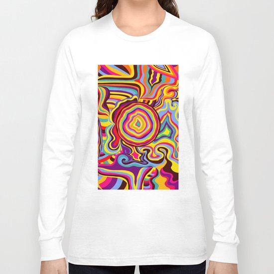 The Dancing Colors Long Sleeve T-shirt