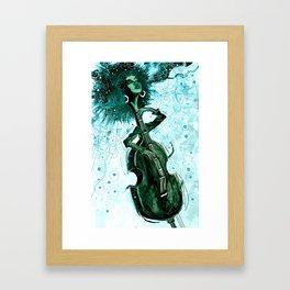 E.S. bot Framed Art Print