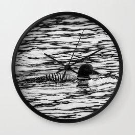 Loon Sighting Wall Clock