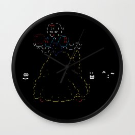 Snow White and the 7 Emoticons Wall Clock