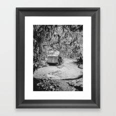 Water Wheel #1 Framed Art Print