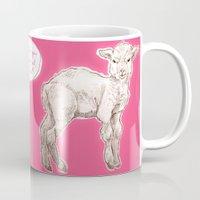 sassy Mugs featuring sassy lamb by AnnaToman
