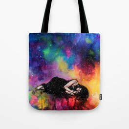 Everytime I close my eyes it's like a beautiful paradise Tote Bag