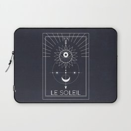 Le Soleil or The Sun Tarot Laptop Sleeve