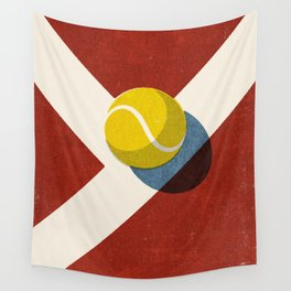BALLS / Tennis (Clay Court) Wall Tapestry