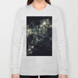Infinity Particles Abstract Long Sleeve T-shirt