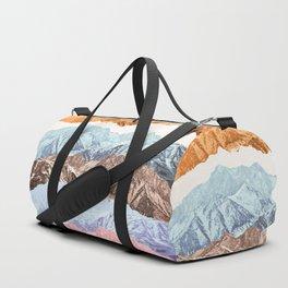 mountain mashup (variant 2) Duffle Bag