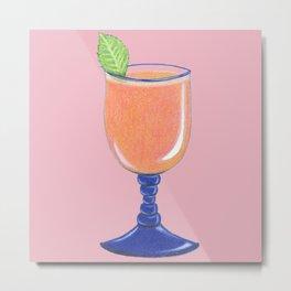 Tropical Bliss (Pink) Metal Print