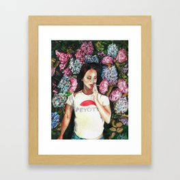 Beauty and Rage Framed Art Print