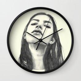 Tilted Wall Clock