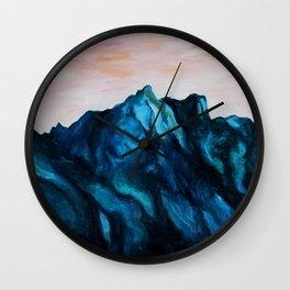 Melting Rocks Wall Clock