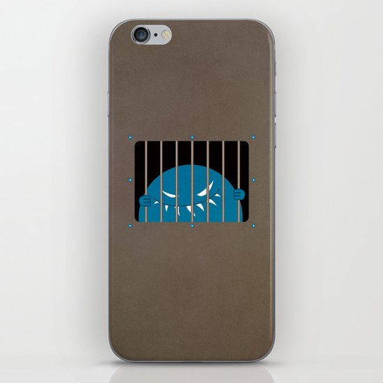 Evil Monster Kingpin Jailed iPhone & iPod Skin