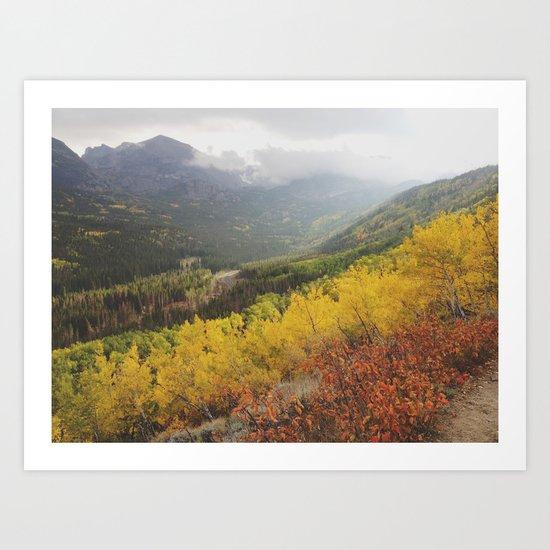 Rocky Mountain Colors Art Print