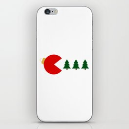 Christmas Tree Munchies iPhone Skin