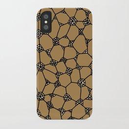 Yzor pattern 006-2 kitai beige iPhone Case