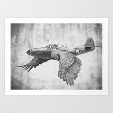 In which it's a bird. It's a plane. Art Print