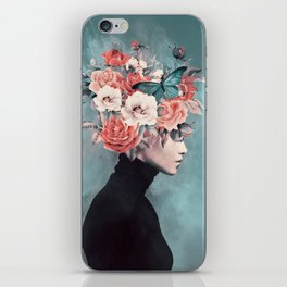 blooming 3 iPhone Skin