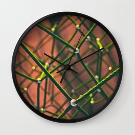 Chemical Connections (Color) Wall Clock