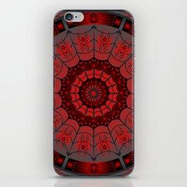 Gothic Spider Web iPhone Skin