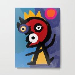 Little King Metal Print