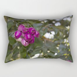 blackberry love Rectangular Pillow