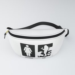 Others vs. Me (woman) - farm animals Fanny Pack