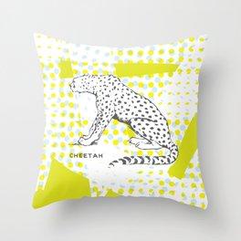POP Cheetah Throw Pillow