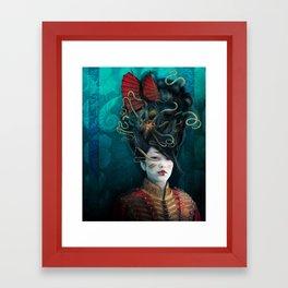Queen of the Wild Frontier Framed Art Print