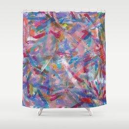 Art Studio Experimentation Shower Curtain