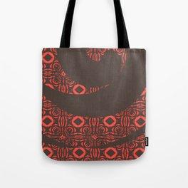 Red Diamonds Tote Bag