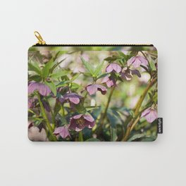 Helleborre purple dark bloom Carry-All Pouch