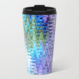 Charming Distractions, Abstract Art Waves Travel Mug
