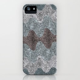 Under the Influence (Marimekko Curves) Hi Contrast iPhone Case