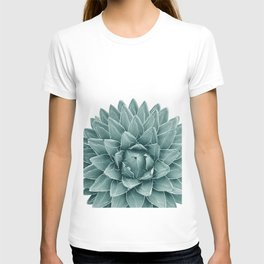 Green Agave Chic #1 #succulent #decor #art #society6 T-shirt