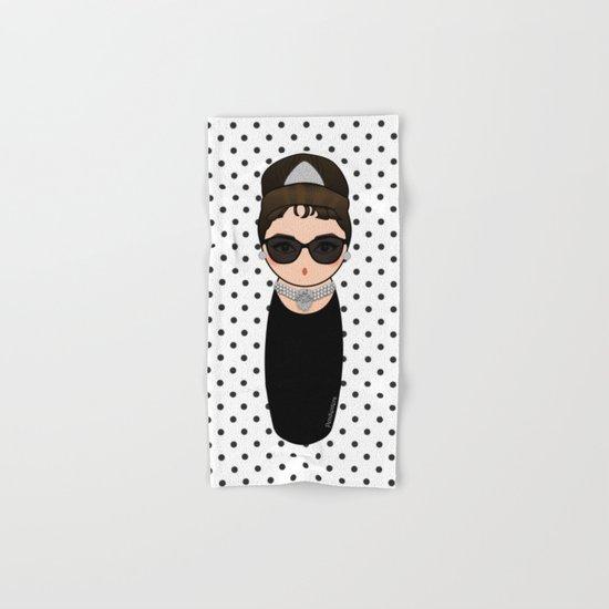Kokeshi Audrey Hepburn Hand & Bath Towel
