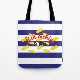 Fish & Chips Tote Bag