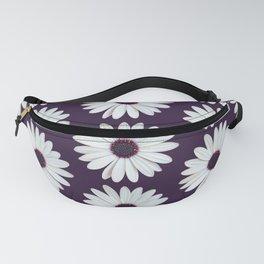 Purple Daisies Pattern Fanny Pack