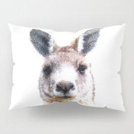 Kangaroo Portrait Pillow Sham