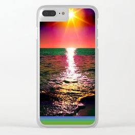 Antarctica Clear iPhone Case
