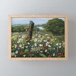 Wild Daisies Framed Mini Art Print