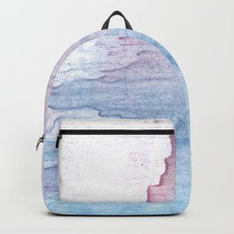 Lavender colorful wash drawing Backpack