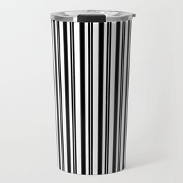 Ticking Black and White Travel Mug