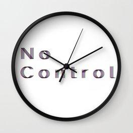 No Control Wall Clock