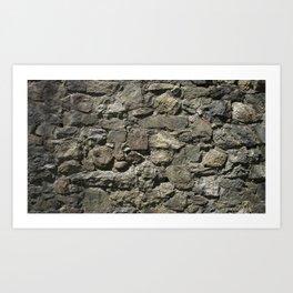 Rock Back Art Print