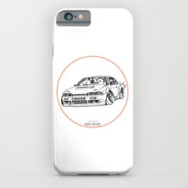 Crazy Car Art 0201 iPhone Case