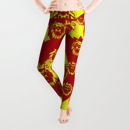 Lion circle pattern Leggings
