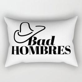 Bad Hombres Rectangular Pillow