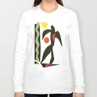 matisse Long Sleeve T-shirts featuring Inspired to Matisse (vintage) by Chicca Besso